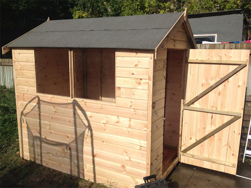 Garden buildings and sheds for Garden sheds and garages